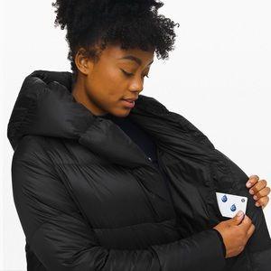 lululemon athletica Jackets & Coats - Lululemon- Cloudscape Jacket Long, W size 2. NWT